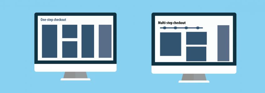One Step Checkout vs. Multi Step Checkout