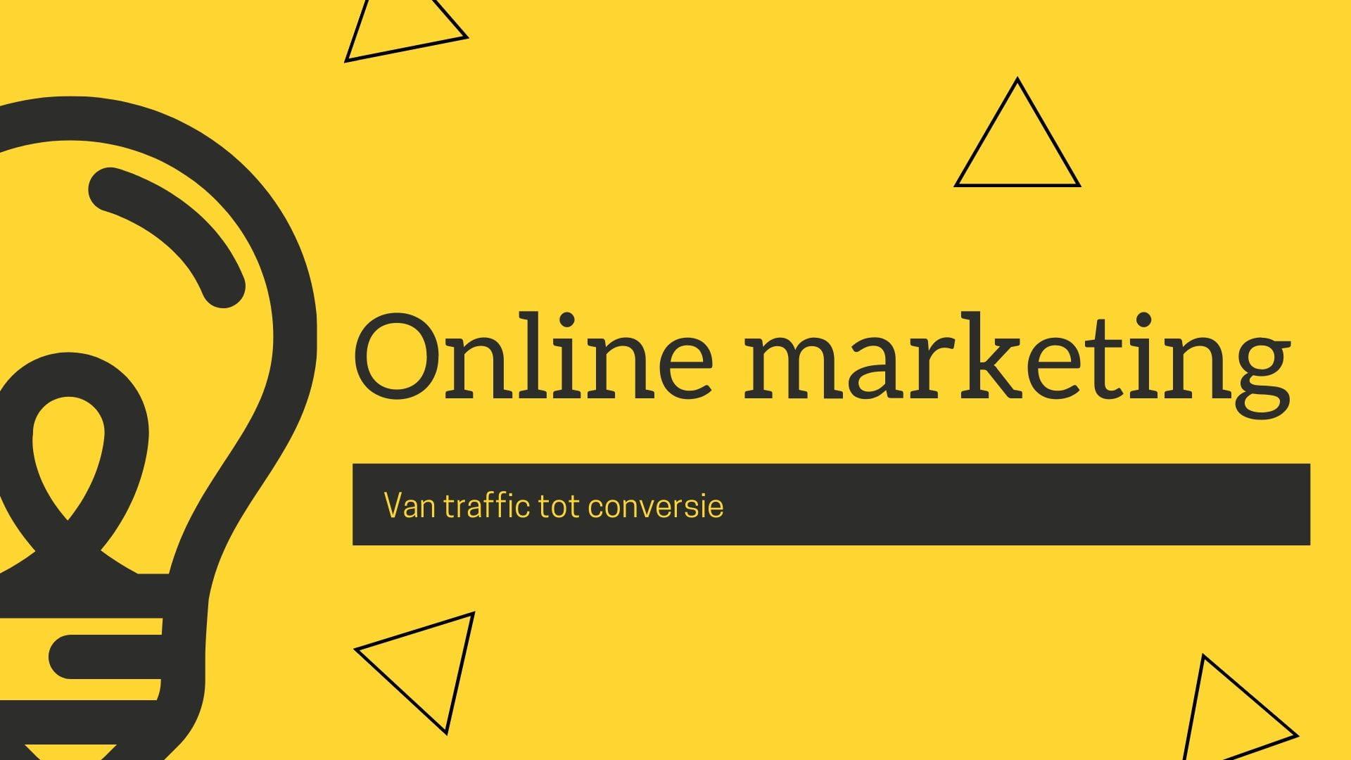 online marketing nieuwe website
