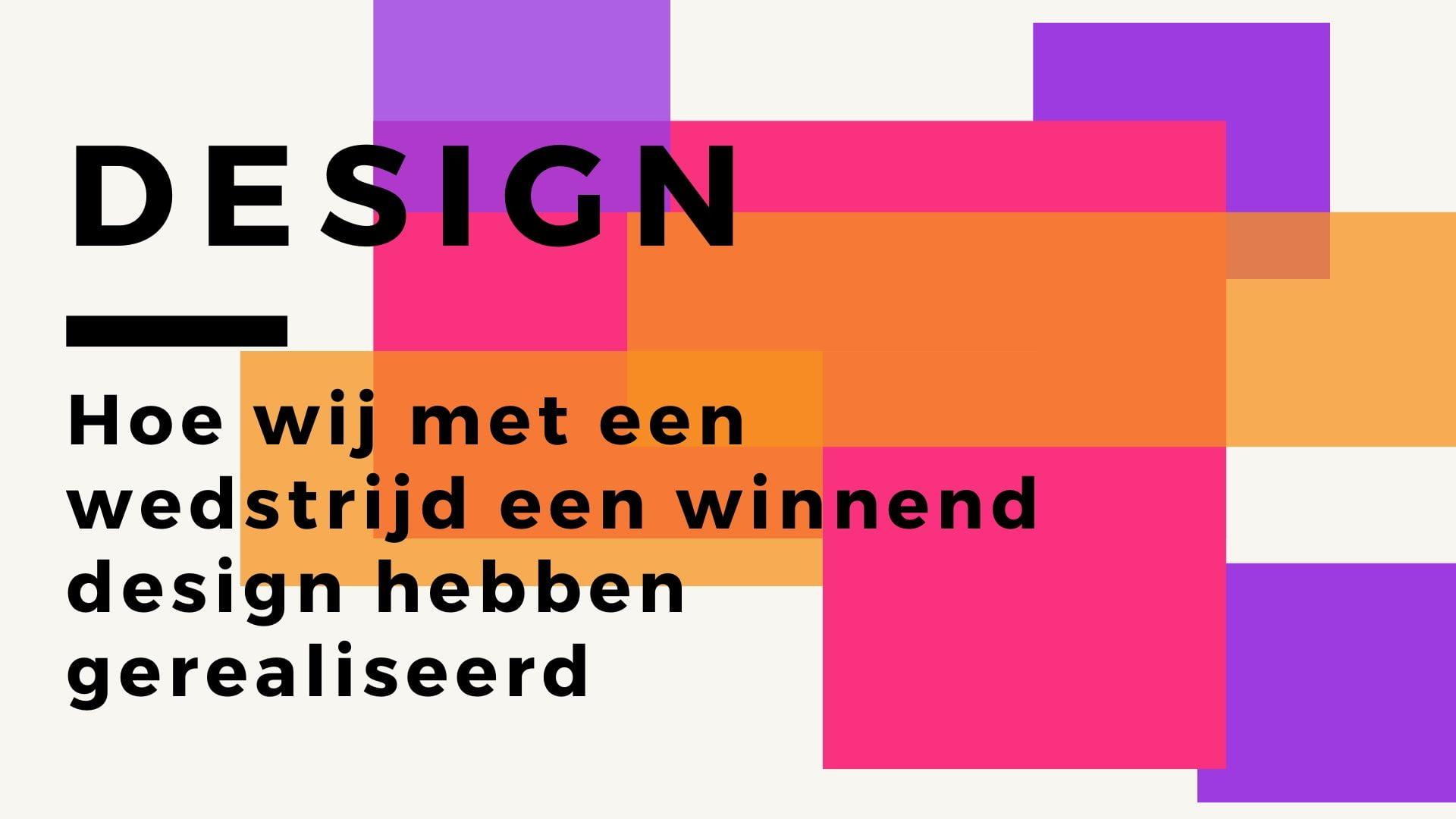 design nieuwe website