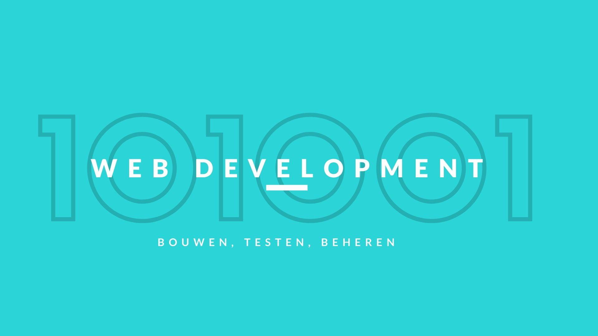 web development nieuwe website