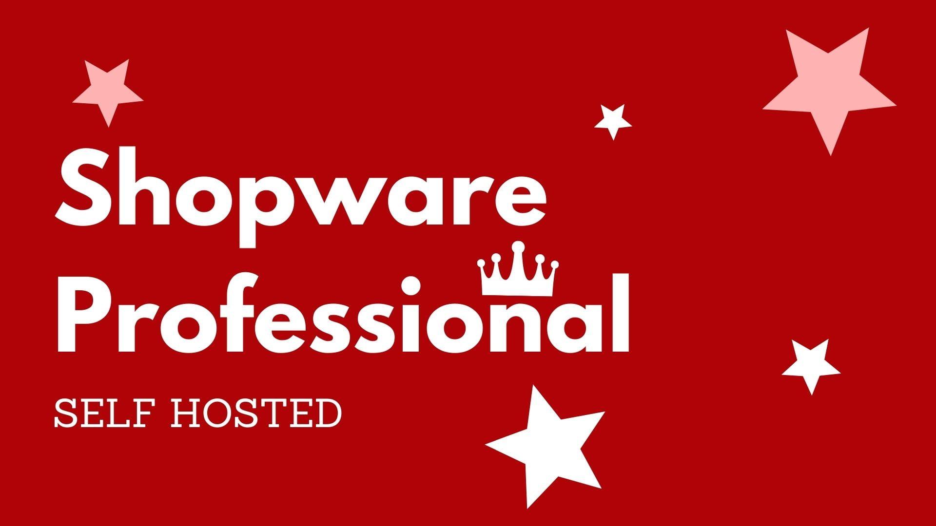 Shopware Professional