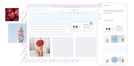 Shopware content editor